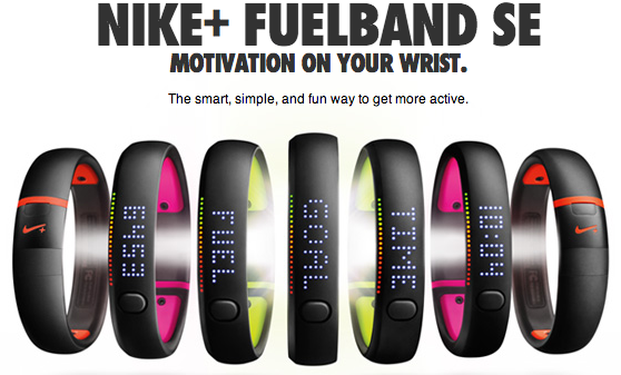 Nike+ Fuelband activity tracker